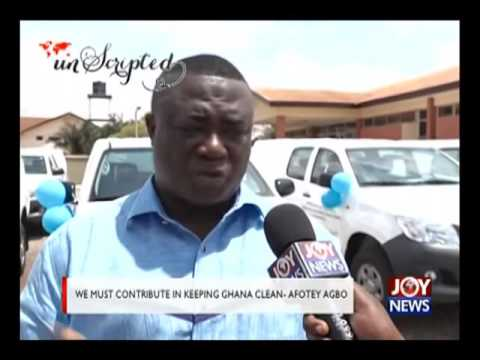 We must contribute in keeping ghana clean - Afotey Agbo