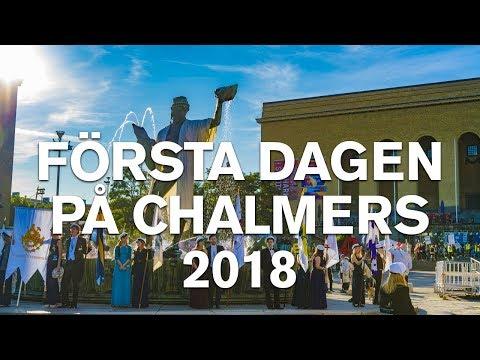 Första dagen på Chalmers 2018