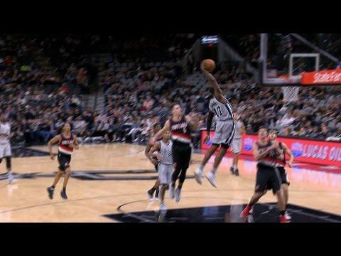 Jonathon Simmons SLAMS vs Portland | 12.30.16