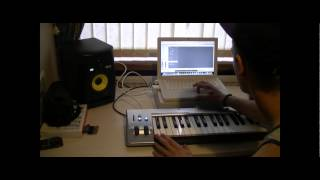 Yungg S in Studio - Making of a Beat! *Exclusive*