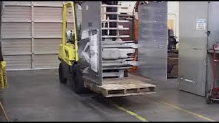 Atașament motostivuitor pentru electrocasnice și carton (carton & white goods clamps)