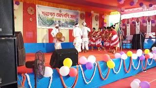 Jhumur dance performance at Behali Degree College