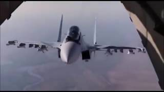 Curious Russian Su-30 pilot in Syria