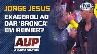 JORGE JESUS EXAGEROU AO DAR 'BRONCA' EM REINIER? Flamengo é assunto no