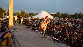 R&B artiste Monica performing Live Accappella @ Kiss Family Reunion. Filmed by F.M.G Media.