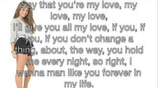 JoJo - Forever In My Life Lyrics