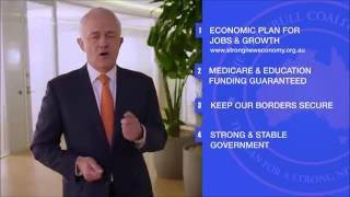 Four reasons to support the coalition  - feat hands - 30 sec