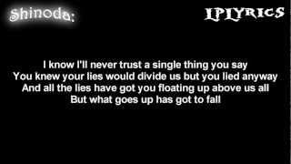 Linkin Park- Hit The Floor [Lyrics on screen] HD