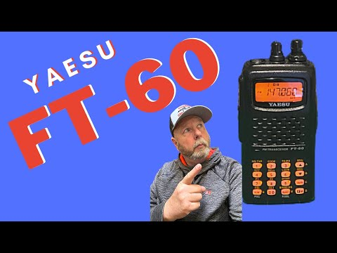 Yaesu FT60 2 meter, 70 cm  dual band radio.