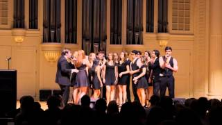 Who's Lovin' You (Michael Buble) - Vital Signs A Cappella Spring '14