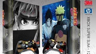 Xbox 360 Super Slim Skin - Naruto - Depoimento 194 Vinicius Magrinelli