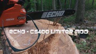 Echo Chainsaw Carburetor Adjustment  Mod - CS400