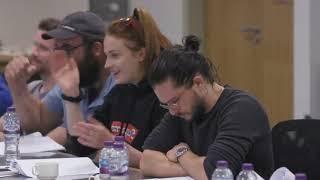 SUB-ITA: Le reazioni del cast alla lettura del copione dell'ultima stagione