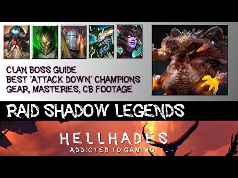 RAID SHADOW LEGENDS | Best Attack Down Champions for Clan Boss