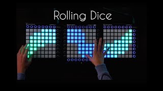 Just a Gent - Rolling Dice (Last Heros Remix) | Triple Launchpad Cover/Remake [4K]