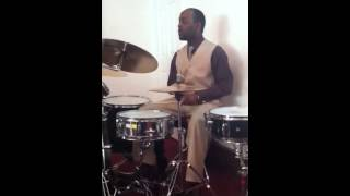 Drum solo Inside Out Gospel song part 1 of 3 Beginning of song