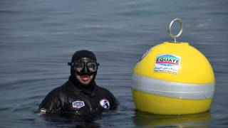 Installing Mooring Buoys with the Kuwait Dive Team