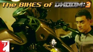 Watch amazing and stunning Bikes used in Dhoom 3