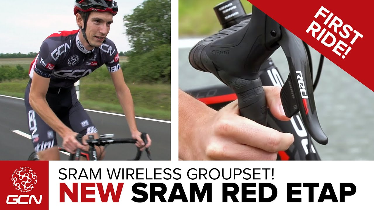 NEW SRAM Red eTap Wireless Groupset