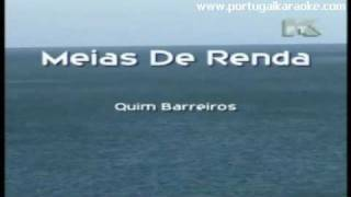 MEIAS DE RENDA - Quim Barreiros