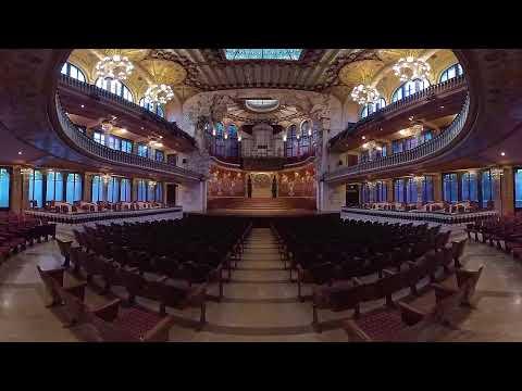 Palau de la Música Catalana en 360 4K #SpainIn10sec