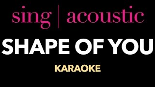 Ed Sheeran - Shape Of You (Karaoke/Instrumental)