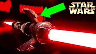 Darth Maul's NEW Lightsaber Explained - Star Wars Explained