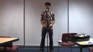 "Jai Chakrabarti performs ""Sunset River Song"""