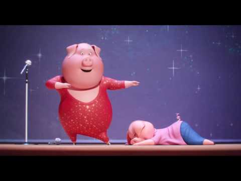 Watch the latest trailer for Illumination's hit animated feature 'Sing'