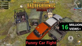 [Hindi] PUBG Mobile   Funny Melee Weapons & Car Fight