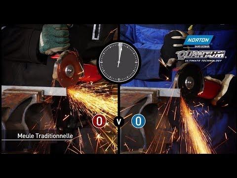 Norton Quantum 0.8mm - Le Challenge de la vitesse de coupe
