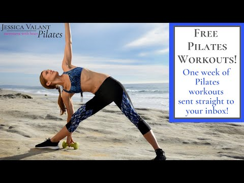Free Pilates Workouts At Home - Starts August 1!