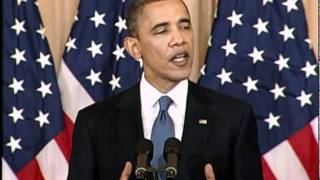 President Obama: U.S. Support for Changes in the Middle East (English)