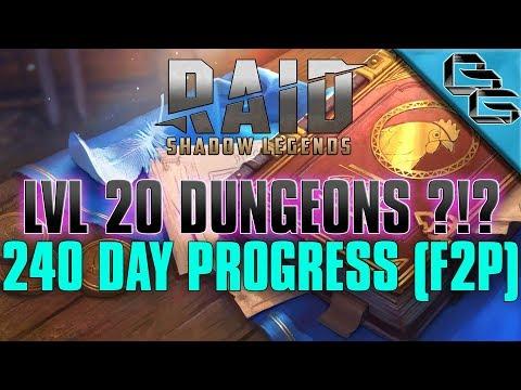 RAID: Shadow Legends | 240 Day Progress !! | FREE Sacred Shard | F2P
