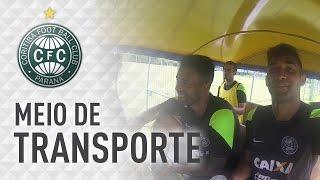 Pré-temporada 2015 - meio de transporte