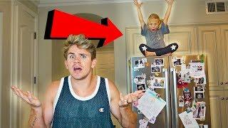 6 Year Old Hide N Seek BEST Hiding Spots Ever!!!