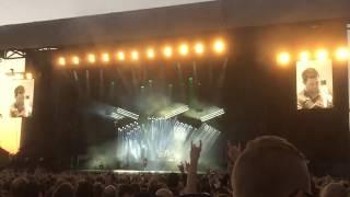 Rammstein - Du Riechst so gut - Live Fængslet Horsens, Denmark - 25-5 2017