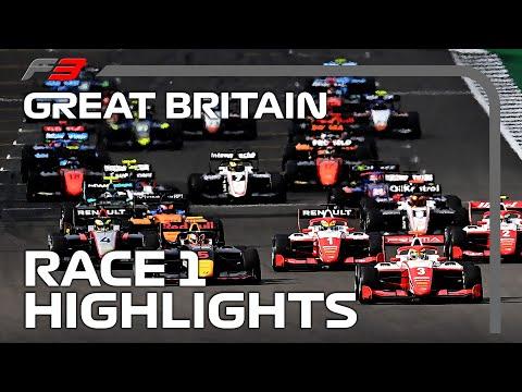 F3 Race 1 Highlights | 2020 British Grand Prix