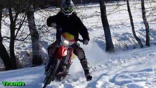 Beta RR300 2-Stroke Snow Ride Fun - Sweet Sounds!