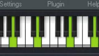 FUNDO MUSICAL  ( teclado virtual )