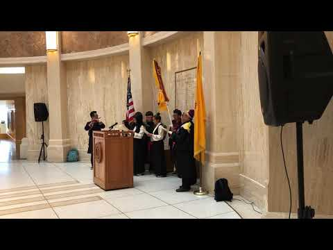 Tibetan Uprising Day in Santa Fe