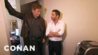 Conan Busts Jordan Schlansky & His Elitist Espresso Machine - CONAN on TBS width=