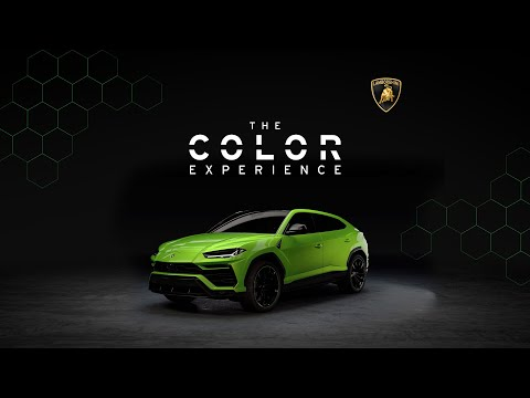 Lamborghini Urus: The Color Experience