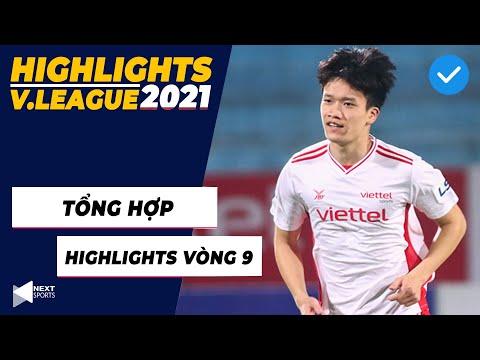 LIVE I Tổng hợp Highlights vòng 9 V.League 2021 I Hoàng Đức lập siêu phẩm Thế giới