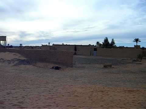 Merzouga Saharan Desert view in Morocco