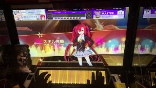 【CHUNITHM手元動画】全力バタンキュー Master【ALL JUSTICE CRITICAL】