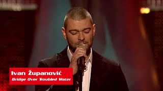"Ivan Županović: ""Bridge Over Troubled Water"" - The Voice of Croatia - Season1 - Blind Auditions3"