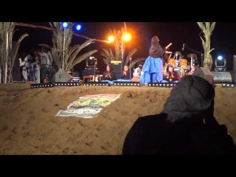 Tartit from Mali in Taragalte Festival 2012 – part 2, Mhamid Sahara Desert Morocco