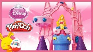 Pâte à modeler Play-Doh en français - Princesse Disney - Aurore - La belle au bois dormant