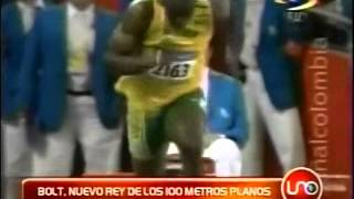 Bolt, nuevo rey de los 100 metros planos